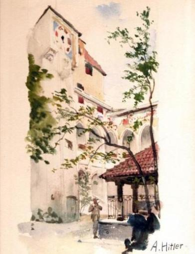 WaterColoursofHitler-6